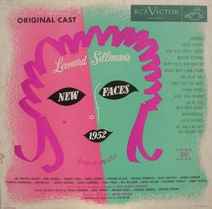 New Faces of 1952 - Image: Leonard Sillman's New Faces Of 1952 (Original Cast) cover art