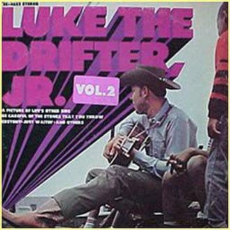 Luke the Drifter Jr. – Vol. 2 - Image: Luke the Drifter, Jr. Vol. 2