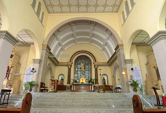 Magalang - Inside of St. Bartholomew Parish Church