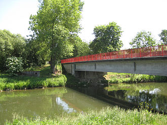 Colmar Pocket - Site of the bridge at Maison Rouge, 2011.