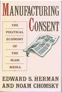 <i>Manufacturing Consent</i> book by Edward S. Herman and Noam Chomsky