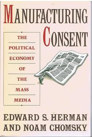 Manufacturing Consent - Cover of the first edition