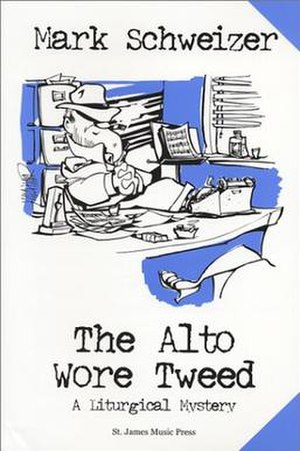 The Alto Wore Tweed - First edition cover