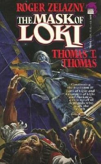 The Mask of Loki - Dust-jacket illustration from the first edition