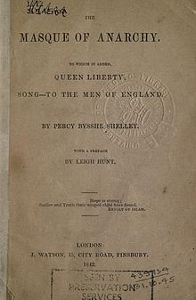shelley england in 1819