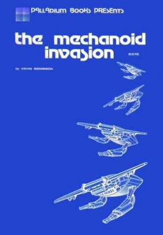 The Mechanoid Invasion - Image: Mechanoid Invasion RPG 1981