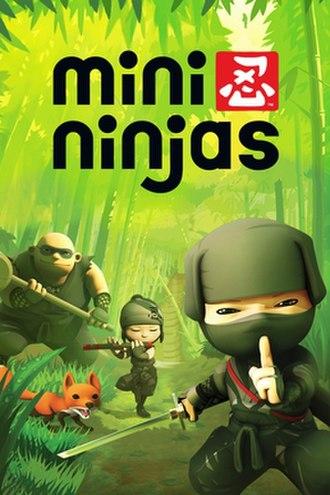 Mini Ninjas - European cover art