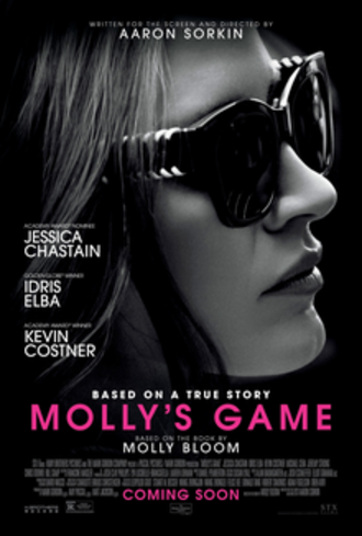 Molly's Game - Theatrical release poster