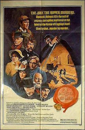 Murder by Decree - Original film poster
