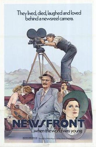 Newsfront - Original US film poster