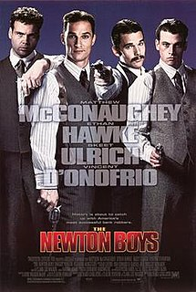 <i>The Newton Boys</i> 1998 film by Richard Linklater