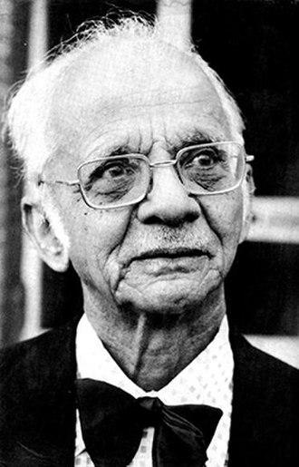 Nirad C. Chaudhuri - Image: Nirad C.Chaudhuri Pic