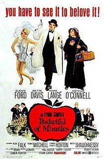 <i>Pocketful of Miracles</i> 1961 film by Frank Capra