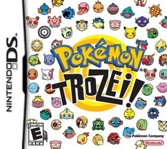 Pokémon Trozei! - North American box art