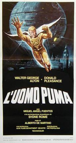 The Pumaman - Italian one-sheet for The Pumaman