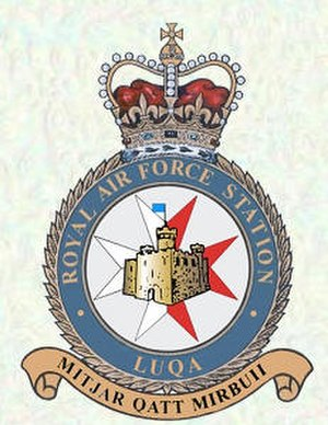 RAF Luqa - Image: RAF Luqa crest
