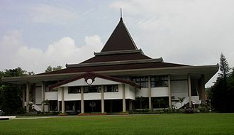 Public university - Sebelas Maret University, one of Indonesia's prominent public universities.