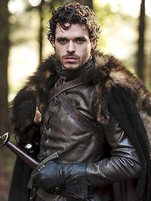 Robb Stark - Richard Madden as Robb Stark