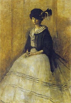 Romaine Brooks - The Black Cap (1907)