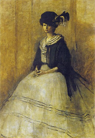 Romaine Brooks - The Black Cap (1907)
