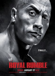 Royal Rumble (2013) 2013 WWE pay-per-view event