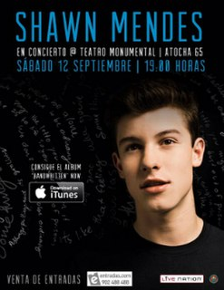 Shawns First Headlines concert tour by Shawn Mendes