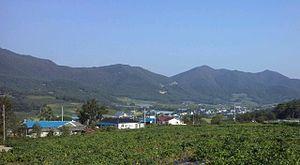 Sangok-ri - Sangok-ri viewed from the south