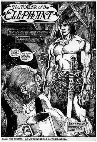 Conan (Marvel Comics) - Image: Savagesword 24 07
