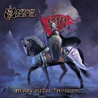 Heavy Metal Thunder (Saxon album) - Image: Saxon Heavy Metal Thunder