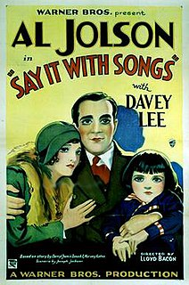 <i>Say It with Songs</i> 1929 film