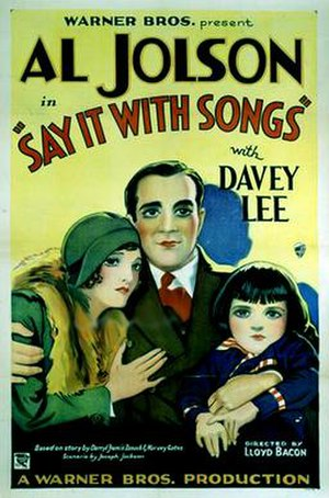Say It with Songs - theatrical release poster