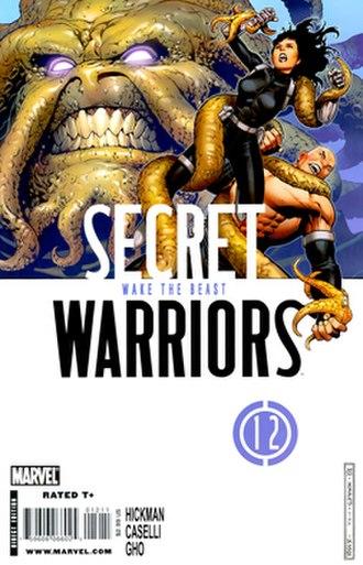 Stonewall (comics) - Image: Secret Warriors Vol 1 12