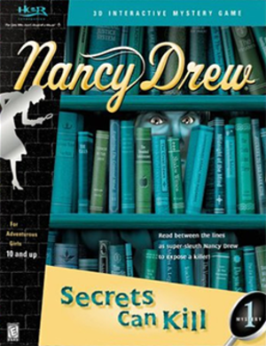 Nancy Drew: Secrets Can Kill - Image: Secrets Can Kill Coverart