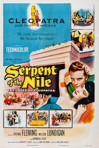 Serpent of the Nile - Image: Serpent Of The Nile Poster