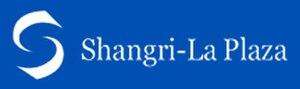 Shangri-La Plaza - Image: Shangri La Plaza Mall Logo