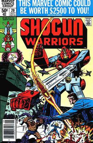 Shogun Warriors (toys) - Image: Shogun FF