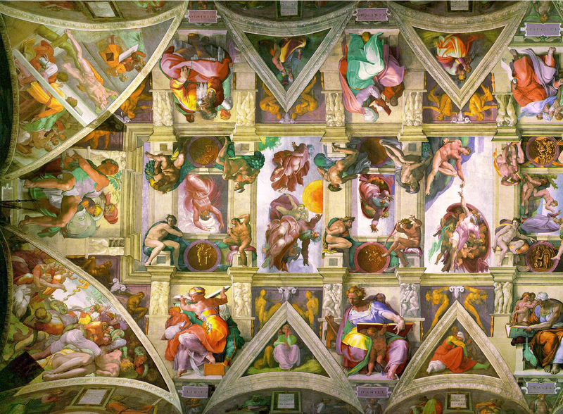 File:Sistine Chapel ceiling left.png