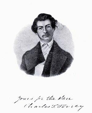 Charles Turner Torrey - Image: Sketch of abolitionist Charles Turner Torrey (1813 1846)