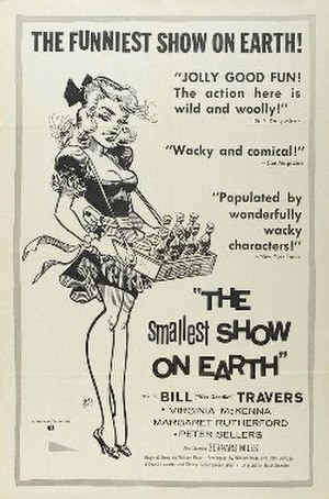 The Smallest Show on Earth - Theatrical release poster