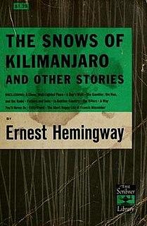 <i>The Snows of Kilimanjaro</i> (short story collection)