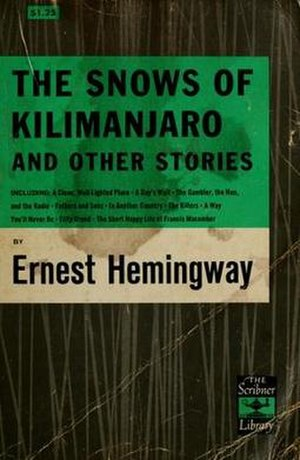 The Snows of Kilimanjaro (short story collection) - First Edition