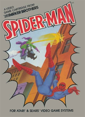 Spider-Man (Atari 2600 video game) - Cover art