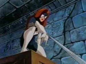 Julia Carpenter - Julia Carpenter appears as Spider-Woman in the Iron Man animated series.