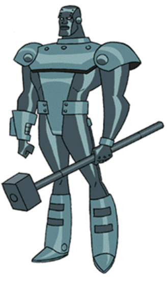 Steel (John Henry Irons) - Steel in Superman: The Animated Series