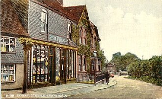Steeple Bumpstead - The Shopping Basket - Bowtells - (Then High Street) Chapel Street around 1930