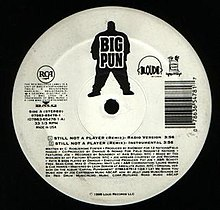 Big Pun featuring Joe - Still Not a Player (studio acapella)