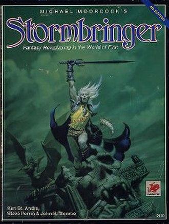 Stormbringer (role-playing game) - Image: Stormbringer RPG 4th edition 1990