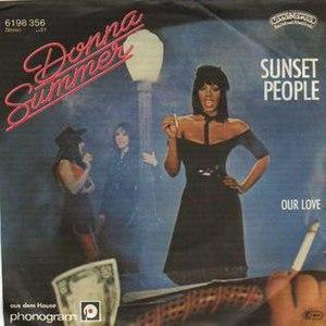 Sunset People - Image: Sunset People (Germany)