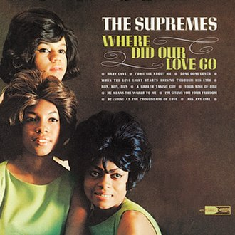 Where Did Our Love Go (album) - Image: Supremes wherelove