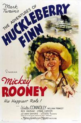 The Adventures of Huckleberry Finn (1939 film) - Theatrical release poster